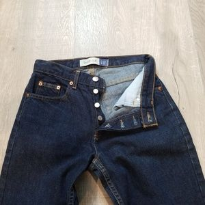 vintage button fly GAP jeans 4-6